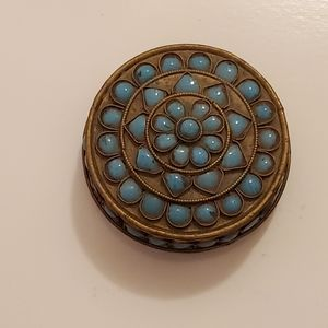 Cutter Gallery Antique Turquoise Accent Box